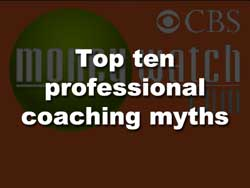 Coaching Links CBS Myths