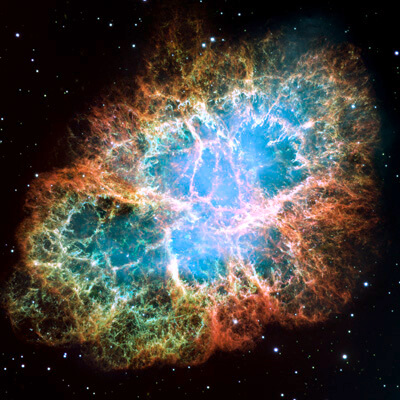 The Crab NebulaPosted in Cool Science
