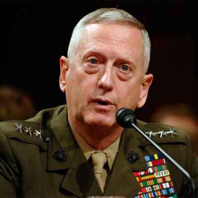 James Mattis and Climate Change