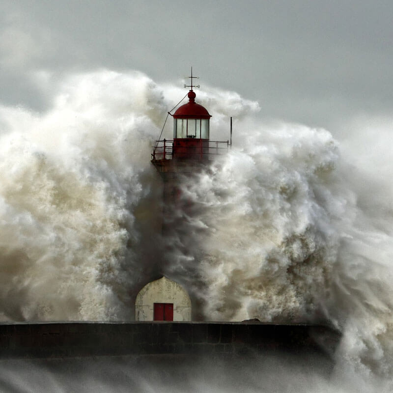 Unpredictability - A Lighthouse in a Storm