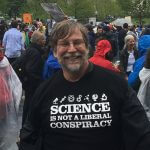 Dr. Jeff Hester at the March for Science