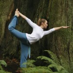 Bikram yoga is about balance